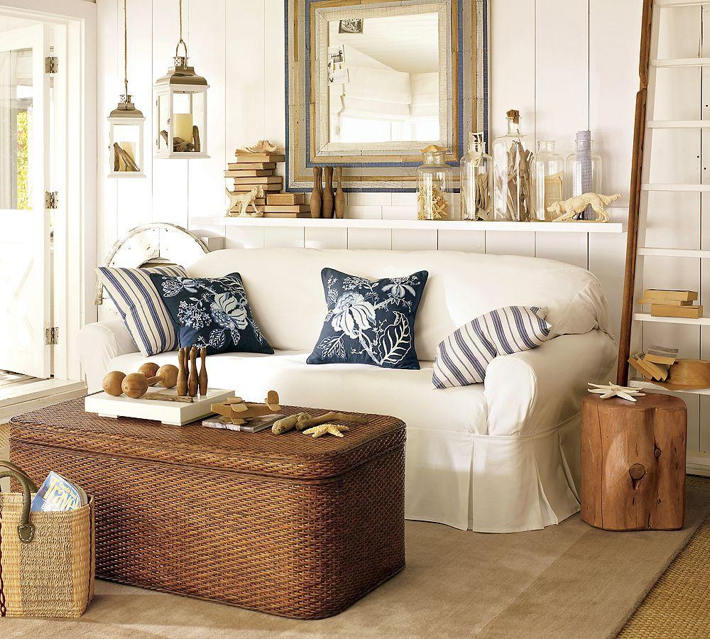 coastal chic living rooms kids art decorating ideas. Black Bedroom Furniture Sets. Home Design Ideas